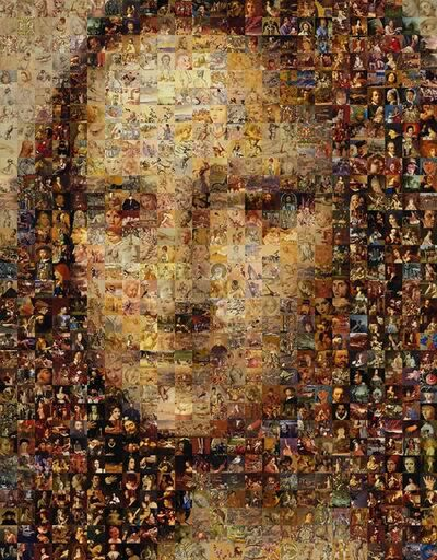 Robert Silvers, 'Mona Lisa (large)', 2000