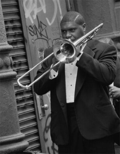Arthur Elgort, 'Wycliff Gordon, New York', 1992