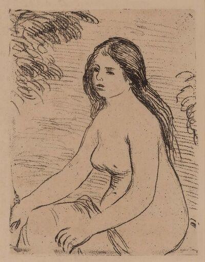 Pierre-Auguste Renoir, 'Femme Nue Assise (Delteil 12)', 1906