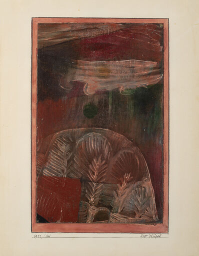 Paul Klee, 'Der Hügel', 1922