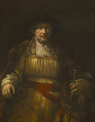 Rembrandt van Rijn, 'Self-portrait', 1658