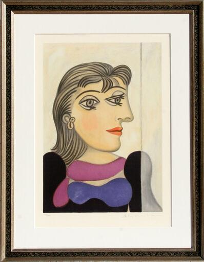 Pablo Picasso, 'Bust de Femme au Foulard Mauve', 1973-original created in 1937