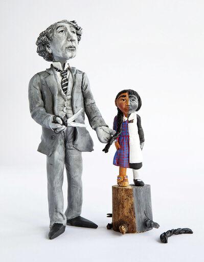 "Karine Giboulo, '""Tuer l'indien dans l'enfant"" - Sir John A. Macdonald', 2016"
