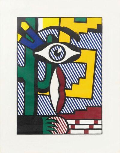 Roy Lichtenstein, 'American Indian Theme III', 1980