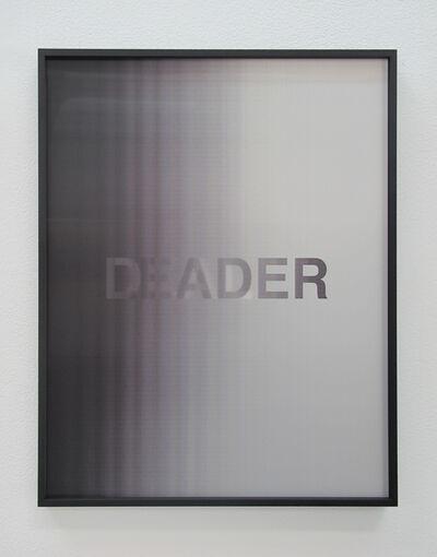 Anahita Razmi, 'LEADERS/DEALERS (Black/White)', 2018