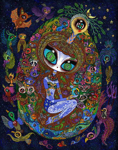 Ciou, 'Cosmic Egg', 2019