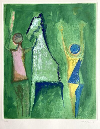 Marino Marini, 'Shakespeare I, Sheet I', 1977