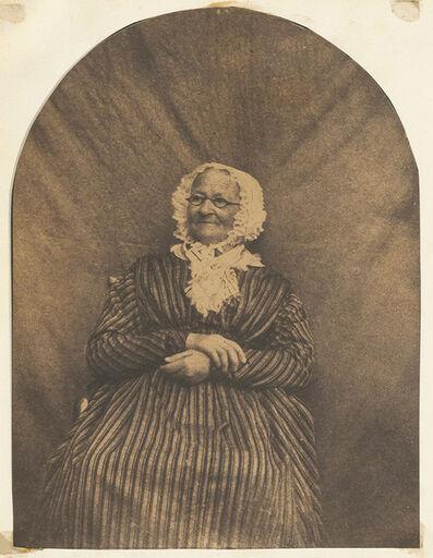 Hippolyte Bayard, 'Portrait de Femme Agée', 1847c/1847c