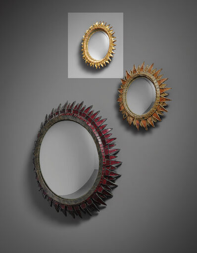 Line Vautrin, ''Chardon' mirror', 1950s