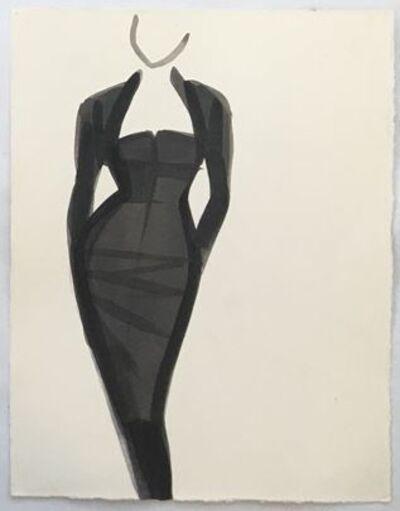 Mats Gustafson, 'Black Dress (Romeo Gigli), Elle Italia', 1987