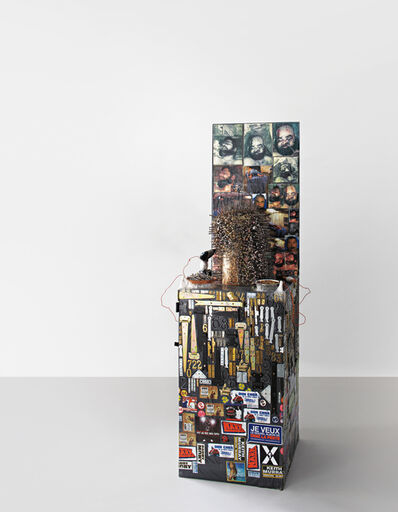 Thomas Hirschhorn, 'Nail Sculpture (grey)', 2003