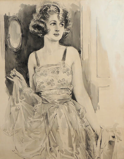 Howard Chandler Christy, 'Portrait of a Woman', 1922