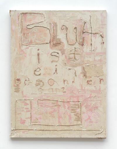 Peter Gallo, 'Blut ist blaeh blaeh', 2012