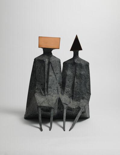 Lynn Chadwick, 'Sitting Couple', 1973