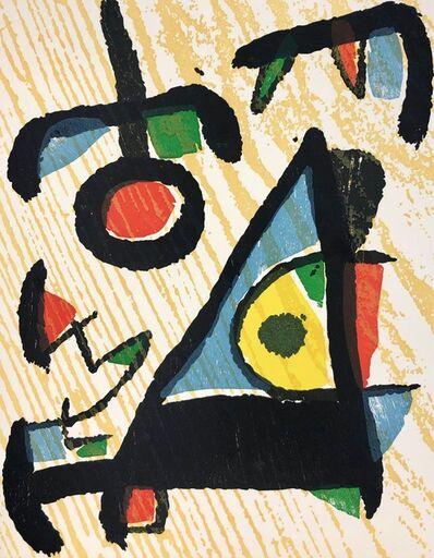 Joan Miró, 'Untitled, Miro Graveur Volume II (D. 1291)', 1989