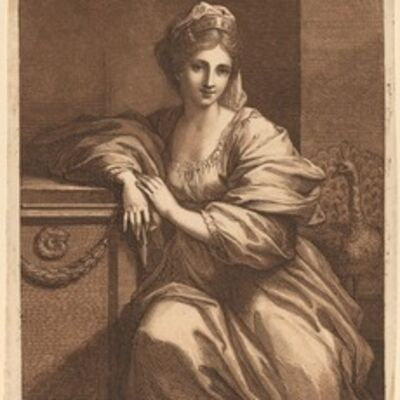 Angelica Kauffmann, 'Juno', published 1780