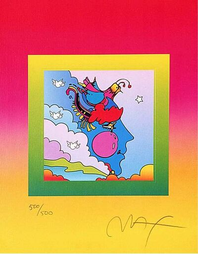 Peter Max, 'Woodstock Profile on Blends', 2006