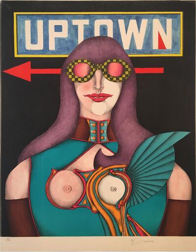 Richard Lindner, 'Uptown', 1971