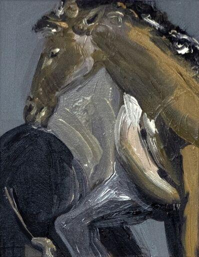 Claudia Baez, 'Brassaï- Horses Jardin de Luxembourg c. 1931', 2019
