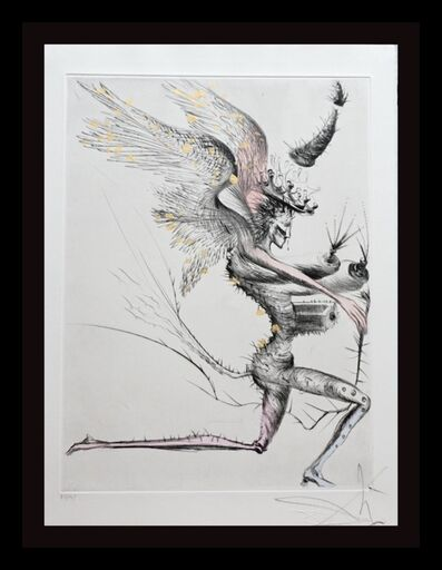 Salvador Dalí, 'La Venus aux Fourrures The Winged Demon ', 1968