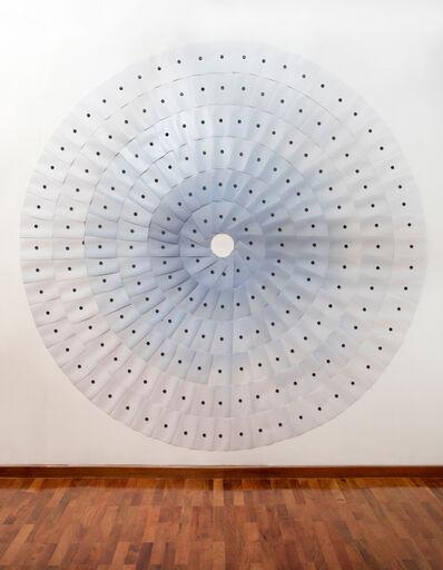Alejandro Cartagena, 'Accumulations No. 11 (Suburban Sky, 9:00 a.m., 101-150 IMECA, Area Metropolitana de la Ciudad de Monterrey)', 2018