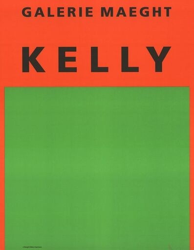 Ellsworth Kelly, 'Orange et Vert', 1964