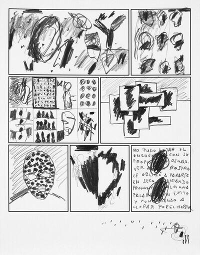Jose M. Ciria, 'Dibujo II. Cómic Ataraxia.', 2016