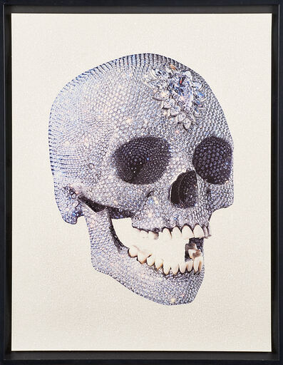 Damien Hirst, 'For the Love of God-White-Skull 3/4', 2007