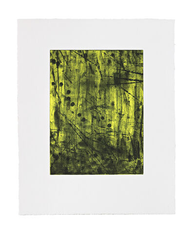 Shinro Ohtake, 'Yellow Forest', 2015