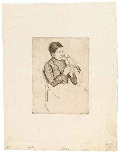 Mary Cassatt, 'The Parrot', ca. 1891