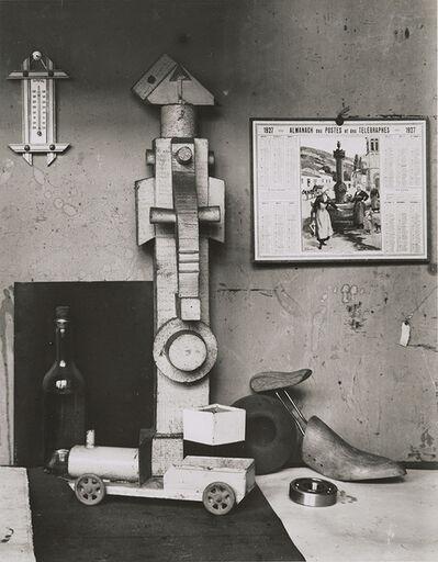 André Kertész, 'Corner of Léger's Studio, Paris', 1927 / 1960c
