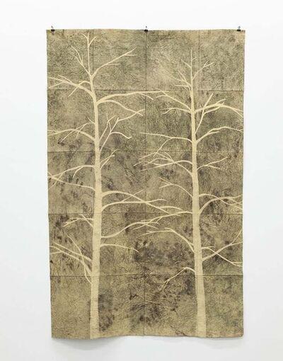 Klaus Dauven, '2 trees', 2014