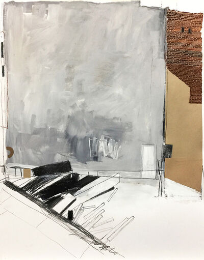 Dolores Poacelli, 'Gentrification_Dig4_Grey Wall', 2018