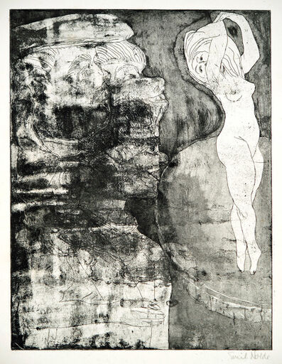 Emil Nolde, 'Tänzerin', 1922