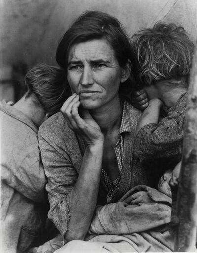 Dorothea Lange, 'Migrant Mother', 1936