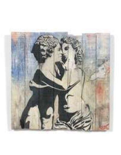 Blek le Rat, 'Faune et Faunesse', 1990