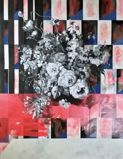 Sarah Van Hoe, '(ATH) Flowerstudy Laudatory Hands', 2019