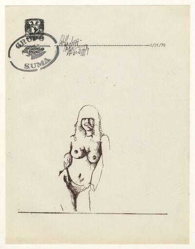 Grupo Suma, 'Santiago Rebolledo, Untitled', 1978