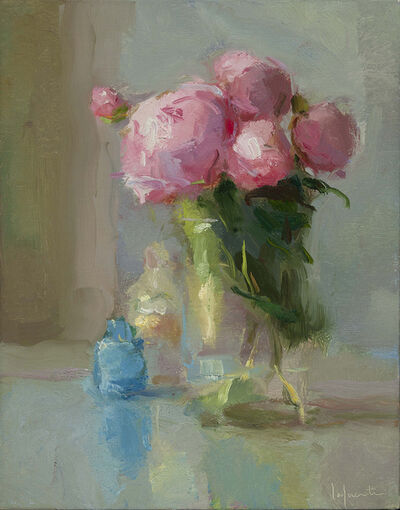 Christine Lafuente, 'Peonies and Bottles', 2017