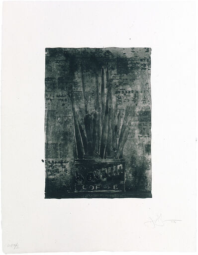 Jasper Johns, 'Savarin 1 (Cookie)', 1978