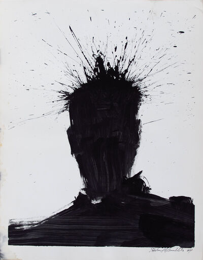 Richard Hambleton, 'Shadow Head Portrait', 2004