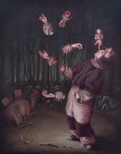 Bruno Pontiroli, 'Jeu de mains', 2014