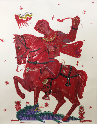 Apostolos Chantzaras, 'Victory and Romance - Frame upon request', 2015