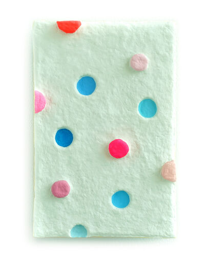 Adam Frezza & Terri Chiao, 'Pink Buttons and 5 Blue Pools', 2020