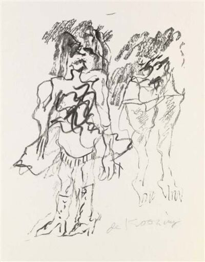 Willem de Kooning, 'Two Women', 1973