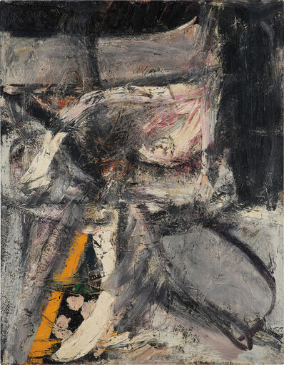 Alfred Leslie, 'Seated Figure', 1952