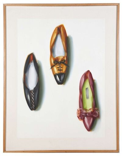 Lisa Milroy, 'Shoes', ca. 1980-1990
