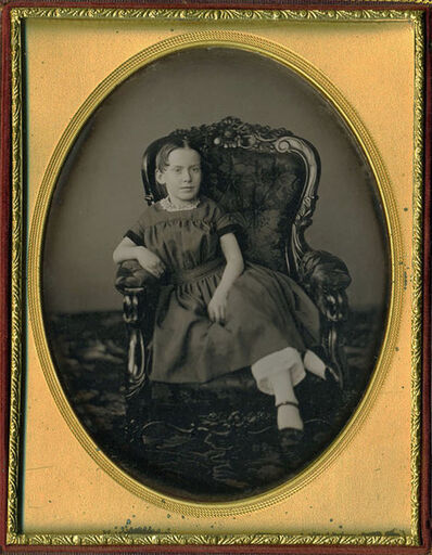 Luther Holman Hale, 'Girl Seated Diagonally', 1850s/1850s