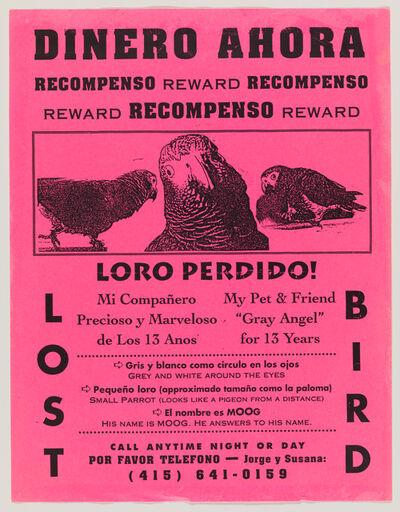 """Rigo 23, 'Found """"Lost Bird"""" Poster', 1989-1998"""