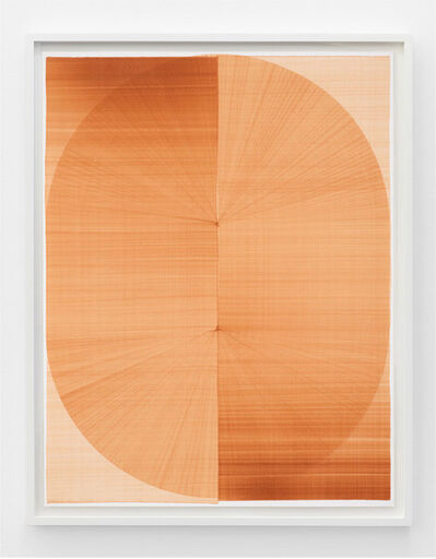 Thomas Trum, 'Two Brown Lines 7', 2020